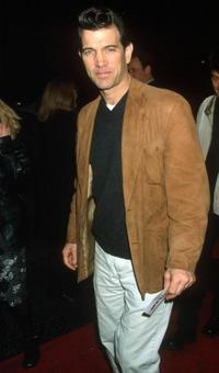 Chris Isaak at the Los Angeles premiere of