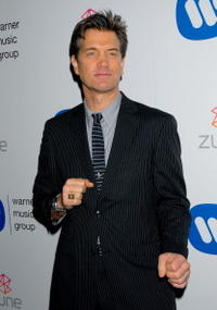Chris Isaak at the Warner Music Group's 2007 Grammy Party.