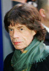 Mick Jagger at the photocall of