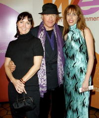 Kim Kolarich, Henry Jaglom and Rachael Bailit at the screening of