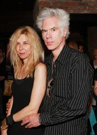 Jim Jarmusch and his wife Sara at the premiere of
