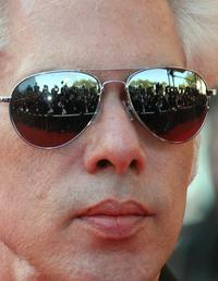 Jim Jarmusch at the screening of the film
