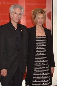 Jim Jarmusch and Sara Driver at the Closing Ceremony of 54th San Sebastian Film Festival.