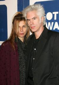 Jim Jarmusch and his wife Stacey Smith at the IFPs (Independent Feature Project) 15th Annual Gotham Awards at Chelsea Piers.