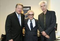 Jim Jarmusch, Al Gore and Martin Scorsese at the Silverdocs at Silver Spring, Maryland.