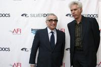 Jim Jarmusch and Martin Scorsese at the Silverdocs at Silver Spring, Maryland.