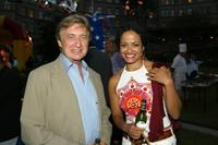 Ken Jenkins and Judy Reyes at the NBCs TCA Summer Tour Party.