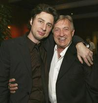 Zach Braff and Ken Jenkins at the after party of the premiere of