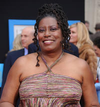 Carlease Burke at the California premiere of