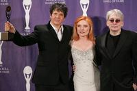 Clem Burke, Debbie Harry and Chris Stein at the 21st Annual Rock And Roll Hall of Fame Induction Ceremony.