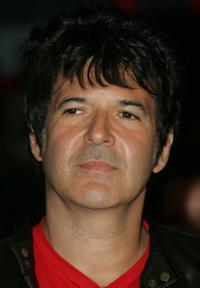 Clem Burke at the induction of Blondie into Hollywood's RockWalk.