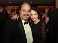 Ron Jeremy and director Phoebe Dollar at the 60th Annual DGA Awards.