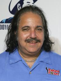 Ron Jeremy at the Doyle Brunson poker player appreciation party.