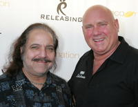 Ron Jeremy and Dennis Hof at the premiere of