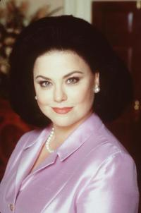 Delta Burke at the NBC show