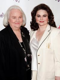 Delta Burke and her mother at the New York after party for the opening night of