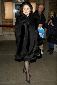 Delta Burke at the opening night of