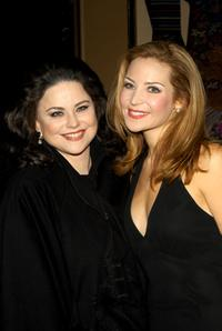 Delta Burke and Jennifer Westfeldt at the New York opening night of
