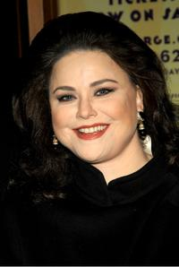 Delta Burke at the New York opening night of