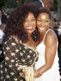 Chaka Khan and A.J. Johnson at the 2nd Annual Gala Dinner Benefiting the Chaka Khan Foundation.