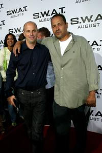Producer Neal Moritz and Clark Johnson at the world premiere of