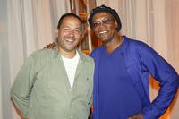Clark Johnson and Samuel L. Jackson at the after party of