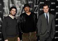 Director Joshua Marston, Clark Johnson and director Rawson Marshall Thurber at the premiere of