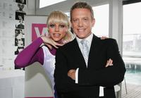 Courtney Act (aka Shane Jenek) and Simon Burke at the