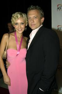 Bessie Bardot and Simon Burke at the 2004 Astra Awards (Australian Subscription television Awards).