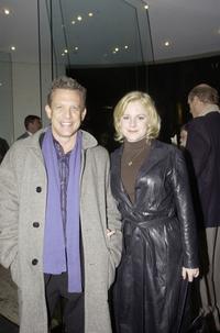 Simon Burke and Helen Dallimore at the Sydney premiere of