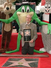 Chuck Jones and a star on the Hollywood Walk of Fame in Los Angeles.