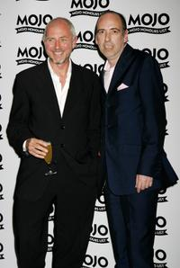Tony James and Mick Jones at the MOJO Honours List Awards.