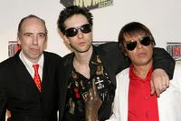 Mick Jones, Bobby Gillespie and Mani at the Shockwaves NME Awards.