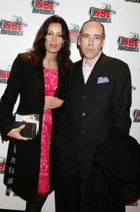 Mick Jones and guest at the Shockwaves NME Awards 2005.