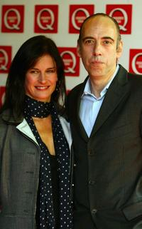 Mick Jones and Guest at the Q Awards 2004.