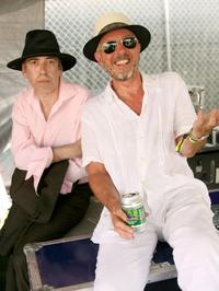 Mick Jones and Tony James at the Coachella Valley Music And Arts Festival.