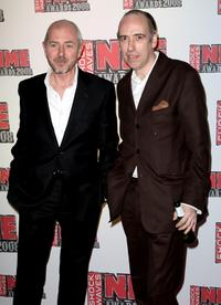 Tony James and Mick Jones at the Shockwaves NME Awards 2008.