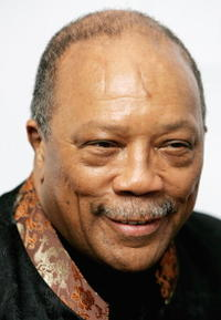 Quincy Jones at the Raisa Gorbachev Foundation Launch Party.