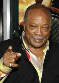 Quincy Jones at the premiere of