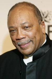 Quincy Jones at the Saks Fifth Avenue's