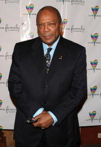 Quincy Jones at the We Are Family Foundation Gala.