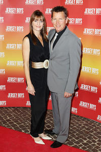 Mandy Burlinson and Tom Burlinson at the opening night of