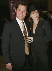 Tom Burlinson and Mandy Carnie at the 2005 Helpmann Awards.