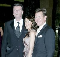 Red Symonds, Danni Minogue and Tom Burlinson at the 50th Annual TV Week Logie Awards.