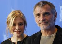 Julia Jentsch and Oldrich Kaiser at the photocall of