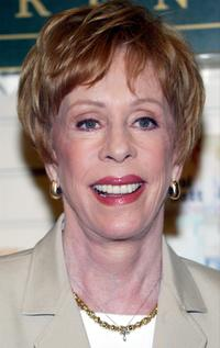 Carol Burnett at the booksigning for her new book