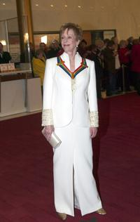 Carol Burnett at the Kennedy Center Honors.