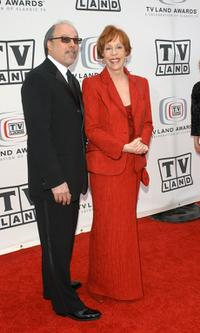 Carol Burnett and her husband Brian Miller at the 2005 TV Land Awards at Barker Hangar.