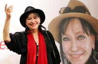 Anna Karina at the 13th Pusan International Film Festival.
