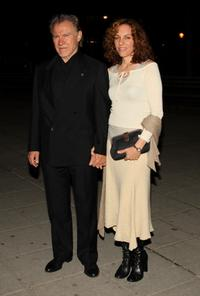 Harvey Keitel and Daphna Kastner at the Vanity Fair party during the 2009 Tribeca Film Festival.